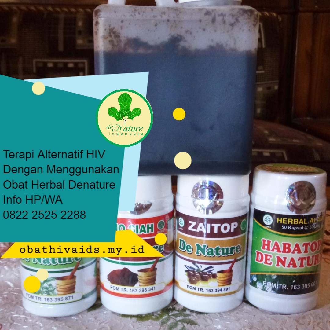 Obat herbal hiv