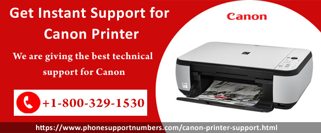 Get instant support for canon printer
