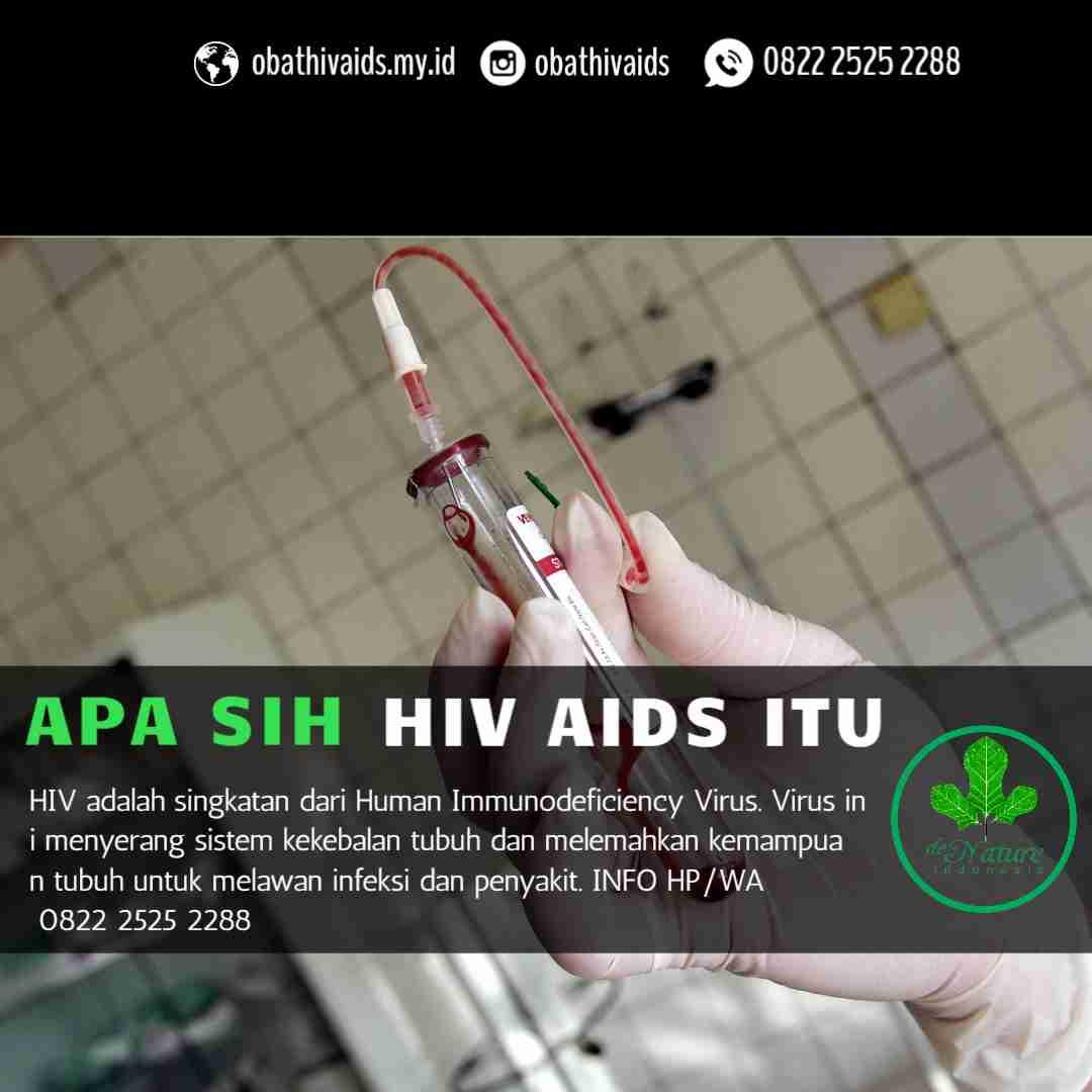 foto tanda tanda penyakit hiv