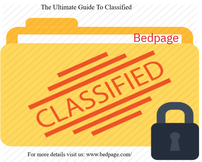 Classified bedpage