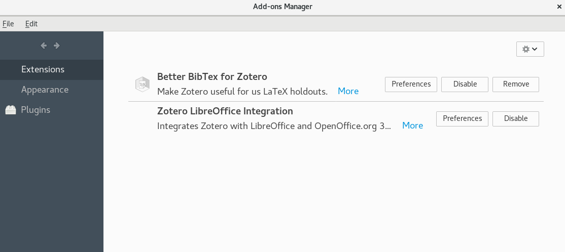 Zotero bibtex install