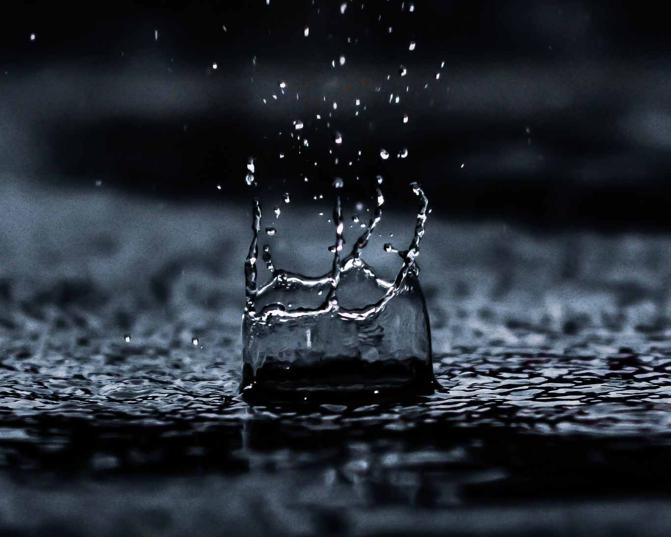 Water droplet digital wallpaper 1100946