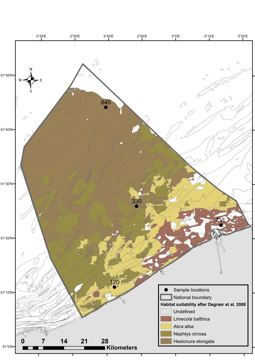 Figure1 sampling locations benthic communities