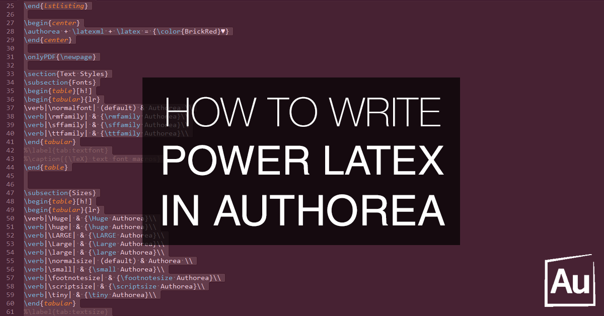 how to write latex  for power users