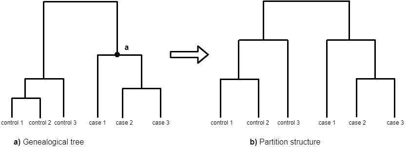 Partitions structure